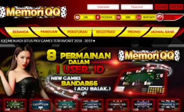 Memoriqq Poker Pkv