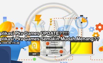 Aplikasi Pkv Games UPDATE?