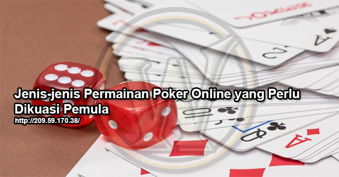 jenis poker online